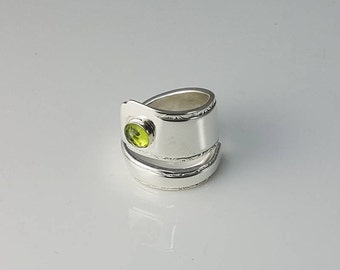 Peridot Jewelry Gift, Birthstone Ring For Her, Jewelry Gift August, Engagement Ring Green Gemstone, August Birthstone Ring, August Gift