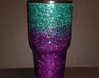 Ombre 30oz made by hand