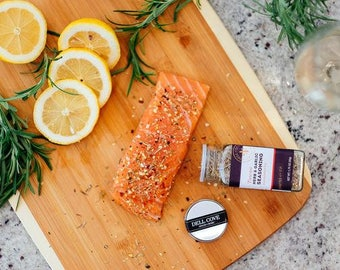 Tuscan Herb and Garlic Seasoning with Italian Spices for Pork, Fish, Steak, Lamb and Sauces