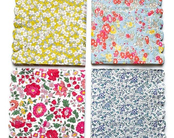 Decoupage Napkins - Liberty Floral Paper Napkins, 4 Different Paper Napkins; Decoupage, Collage and Paper Craft Projects, Liberty of London