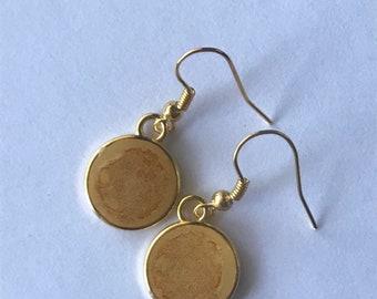 Sandstorm drop earrings