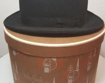 FREE  SHIPPING   1940's  Bowler  Hat
