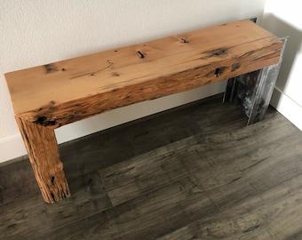 Heavy Metal Bridge Plank Bench