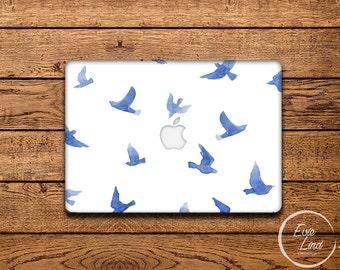 Watercolor Macbook Decal / Macbook Sticker / Stickers macbook pro / Macbook Air Sticker / Macbook Air skin / Laptop decal / EL005
