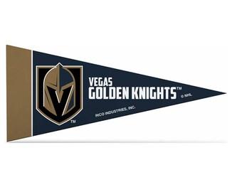 "Vegas Golden Knights Licensed NHL Mini Pennants, 4"" x 9"""