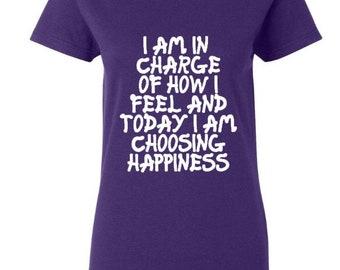 Happiness T Shirt - Happiness logan - Custom T shirt