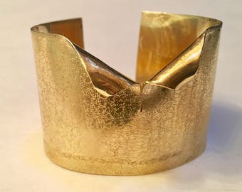 Brass Tuxedo Cuff