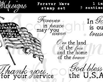 Forever Wave Digital Stamp Set