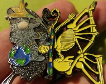 Dead Soon Butterfly- Tipper Inspired Pin