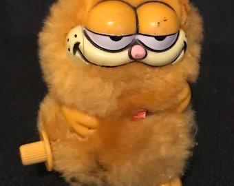 Vintage Garfield Windup Toy Vintage 80's Garfield Collectible SALE PRICE was 4.99 now 2.99
