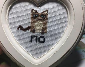 Grumpy cat frame