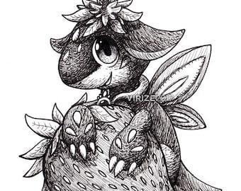 Puzzle & Dragons: Strawberry Dragon [ORIGINAL]