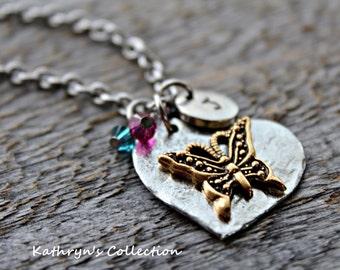 Butterfly Necklace, Butterfly Jewelry, Butterfly Wings, Butterfly Kisses