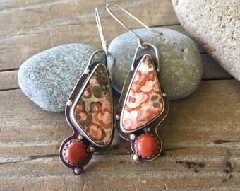 Artisan Jasper earrings