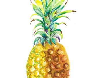 Prickly Colorful Pineapple