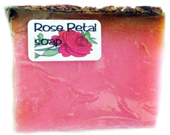 Handmade Rose Glycerin Luxury Soap suitable for vegans