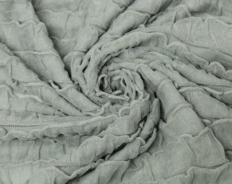 Fern Ruffled Knit Fabric Style 6740