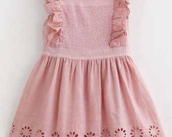 Rosy Pink Baby Girl Dress
