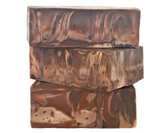 Coffee Soap, Kitchen Soap, Coffee Kitchen Decor, Decorative Soap, Artisan Soap, Cold Process Soap, Lard Soap, Coffee Lovers Gift, Soap Gifts