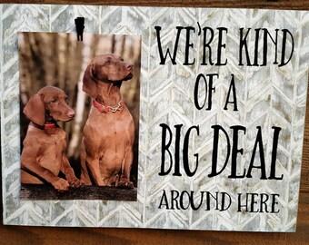 dog photo frame, pet lover gift, dog sign, dog lover frame, gift for pet lover, pet frame, dog lover, frame