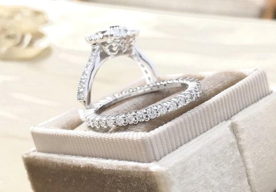 One Half Carat Diamond Eternity Band 14k White