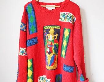 Vintage Adrienne Vittadini sweater - 90's