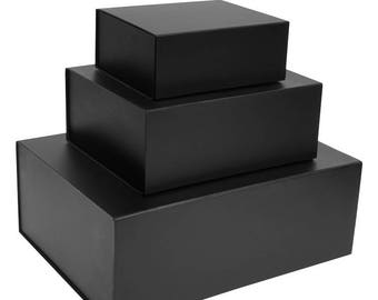 Black Magnetic Gift Boxes