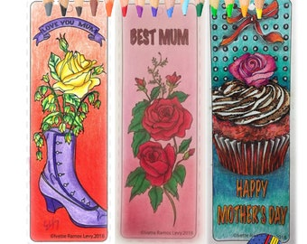 Coloring book for adults, Mother's day, & there is a surprise illustration for you