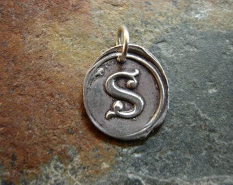 S Wax Seal Charm for Jayne