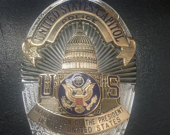 Presidential Inauguration Badge Capitol Police
