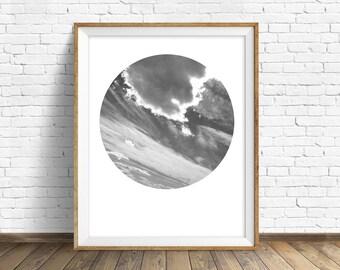 "nature photography, large art, large wall art, printable art, instant download printable art, art print, landscape prints, gray - ""Askew"""