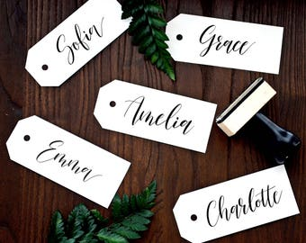 Personalized Handwritten Calligraphy Name Stamp