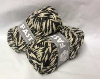 knit - wool / set of 10 balls / over-sized/gray ecru/made in FRANCE