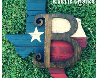 Rustic Texas wall/door board