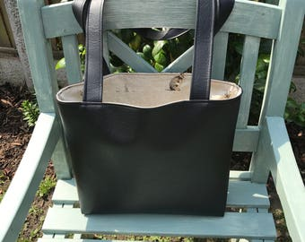 Bag, Handbag, Tote Bag, Black Bag, Hare, Rabbit
