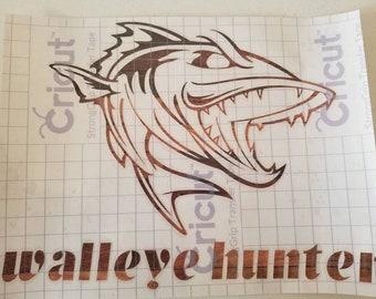 Walleye decal