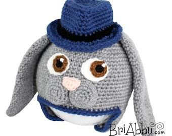 Crochet Sweet Bunny Hat Pattern (PDF FILE)