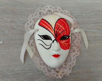 Carnival mask to hang decoration Venice