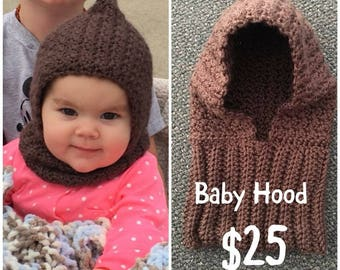 Handmade Hooded cowl