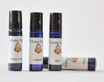 Rollerball Perfume with Essential Oils