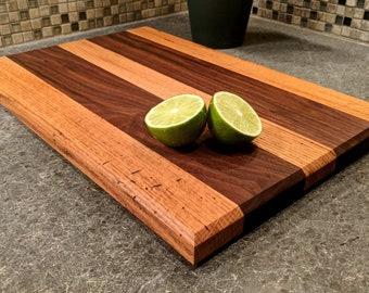 Walnut and Oak Serving/Cutting Board