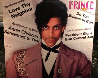 """Prince """"Controversy"""" 1980's LP Vinyl Record Excellent Condition - Free Shipping!"""