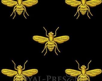 Machine Embroidery Design Napoleonic bee