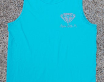 Alpha Delta Pi Diamonds are Forever Tank Top