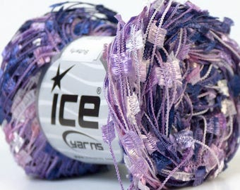 ICE Butterfly Lilac and White