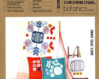Botanics Quilt Pattern by Carolyn Friedlander