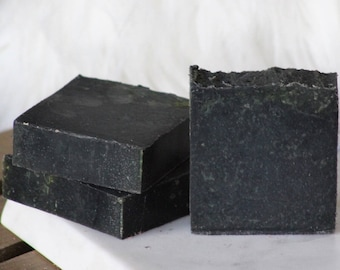 Amber Romance Victoria Secret Scent Activated Charcoal Handmade Natural Artisanal Soap
