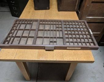 Hamilton MFG Co. Letterpress Typeset Drawer #10 UPS