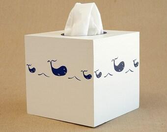 whale tissue box