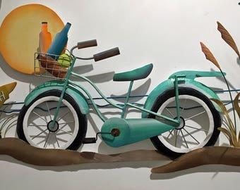 Beach Cruiser Bike Scene CA200